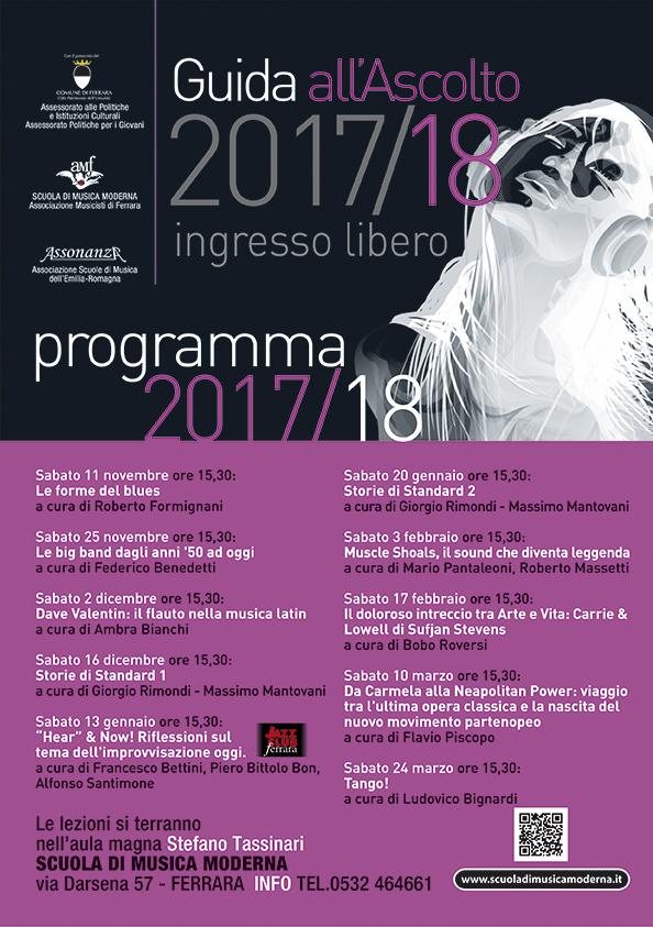 Guida all'Ascolto e musica d'Insieme 2017/2018