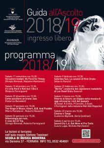 Guida all'Ascolto e musica d'Insieme 2018/2019