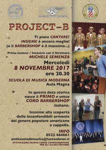 locandina project-b