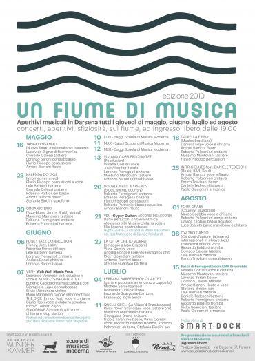 UN FIUME DI MUSICA 2019