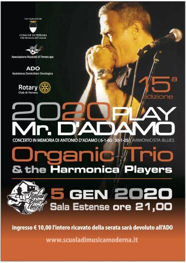 PLAY Mr D'ADAMO  2020  (quindicesima edizione)