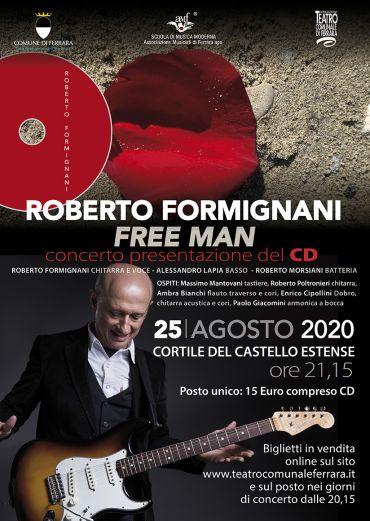 Roberto Formignani & band: FREE MAN